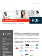 Next U - ICT Training Catalogue 2015_com