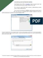 01 - Instalacion de Windows Server