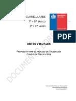 Bases Curriculares Artes Visuales Consulta Publica
