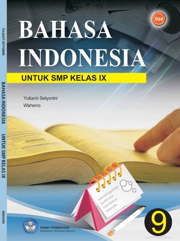Smp Kelas 9 Bahasa Indonesia