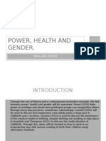 Power, health and gender.
