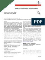A Comprehensive Surface Anatomy Analysis