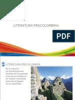 La literatura precolombina