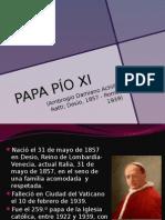 PAPA PÍO XI