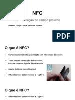 Apresentação NFC - Redes Sem Fio