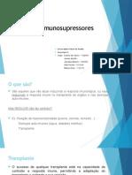 Fármacos imunosupressores