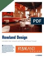 KWF Rowland Case Study