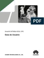 SmartAX MT880a ADSL CPE User Guide-Portuguese