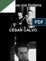 César Calvo - Igual que una Guitarra - poesía