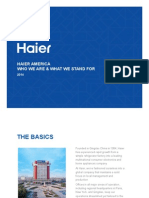 Haier America Overview