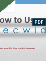How to Use Ecwid by Brian Joseph Gannaban