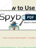 How to Use Spybot Search & Destroy