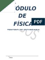 MODULO DE FÍSICA TERCERO SEC