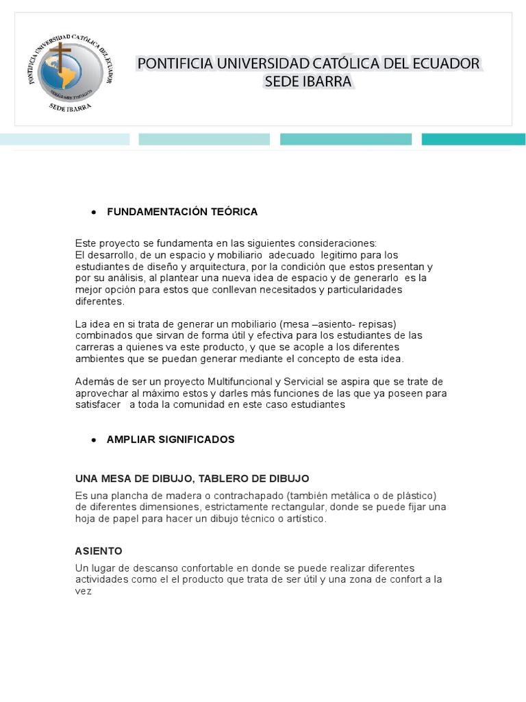 Fundamentacin Terica