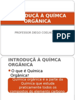 INTRODUÇÃ À QUÃ-MCA ORGÃ'NICA