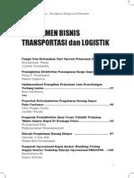 Jurnal manajemen bisnis transportasi dan logistik
