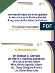 Uso del Enfoque de Investigación Apreciativa en la Evaluación del Programa de Escuelas de Calidad