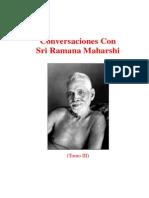 Conversaciones Con Sri Ramana Maharshi Volumen III (Sri Niranjanananda)