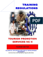TR Tourism Promotion Services NCII