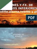 Libro 112 Lesiones y Fracturas Miembros Inferiores