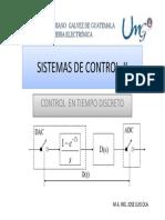 Clase 1 Sistemas de Control II Introduccion