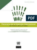 CEPAL Panorama de La Inserción Internacional de América Latina y El Caribe 2014 (1)