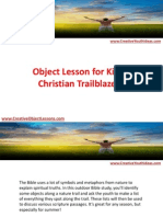 Object Lesson for Kids - Christian Trailblazers