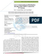 Reactive Power Compensation in Distribution Network with Slide Mode MPPT Control for PV System