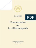 Commentaires Sur Le Dhammapada