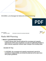RF Link Budget and Dimensioning