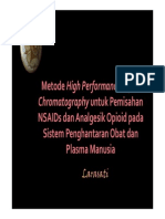 metode hplc untuk pemisahan obat