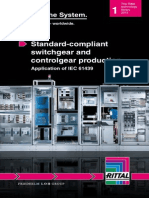 Brochure Standard Compliant Switchgear and Controlgear Production