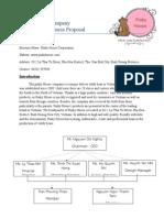 Pinky House Company Proposal Final