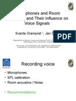 Granqvist Svec PEVoC6 Microphones