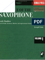 Joe Viola - Saxophone Scale Studies