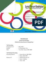 Jurnal Forum Kesehatan - Volume IV Nomor 8, Agustus 2014
