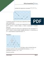 Ficha Exercicios Isometrias Matemática 8º ano