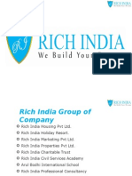 Rich India Presentation