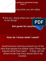 Complete Guide to Assertive Living Unit 5