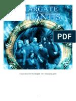 Stargate Atlantis Sourcebook
