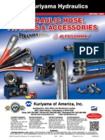 Kuriyama Hydraulic Hose Fittings Brochure