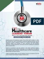 Healthcare Leaders Forum 2015 Brochure