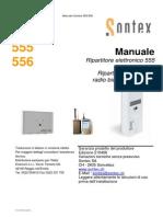 Repartitor de caldura Sontex 555