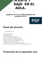 Papel Del Docente y Las Tics.