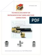 Instrumentation Tubing and Their Connections