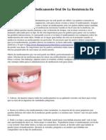 Como Tratar Con Medicamento Oral De La Resistencia En Los Ninos