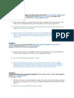 Essay Question Examples