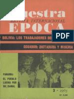 Revista Internacional - Nuestra Epoca N°3 - marzo 1965