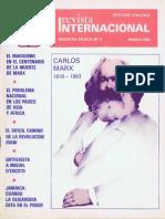 Revista Internacional - Nuestra Epoca N°3 - marzo 1983 - Edición Chilena