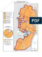 Projected West Bank Partition Plan 2008
